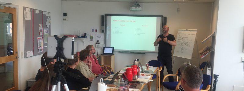 Workshop i Midtjylland