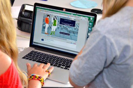 Fire digitale kompetenceområder: Deltagelseskompetencer